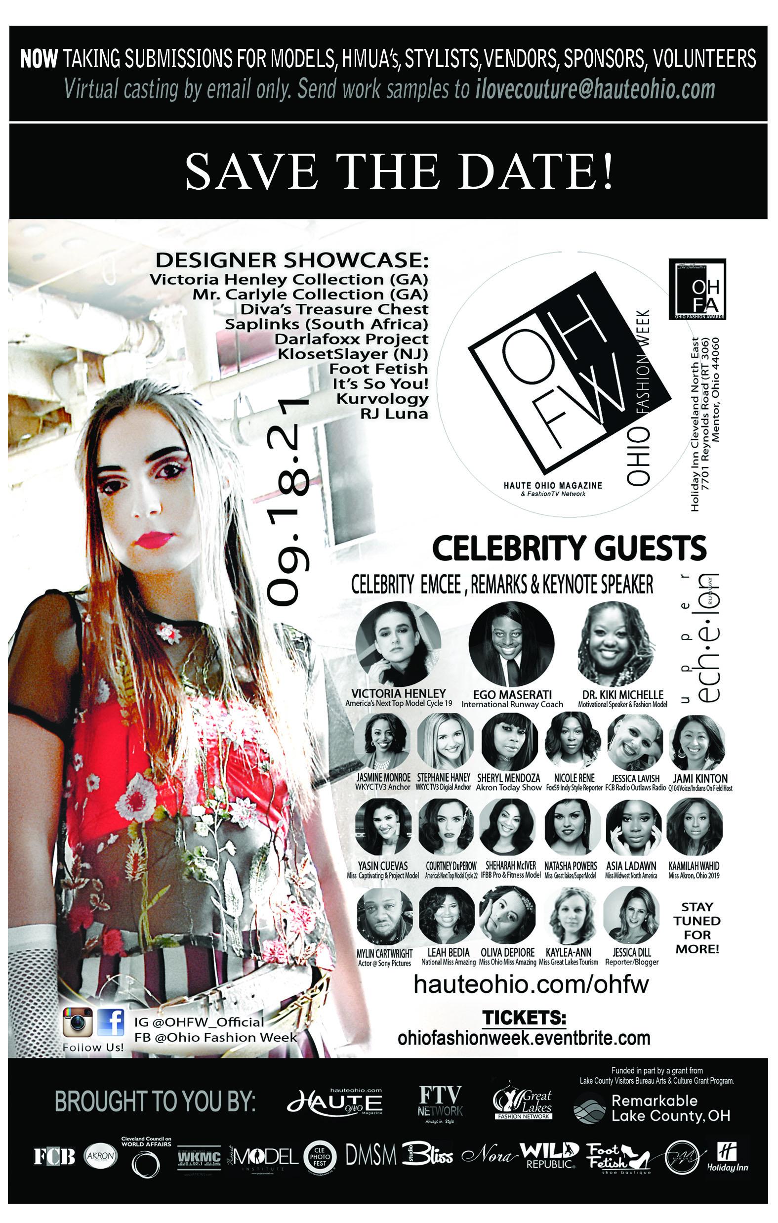 Haute Ohio Magazine - Ohio's Only Quarterly High Fashion Publication